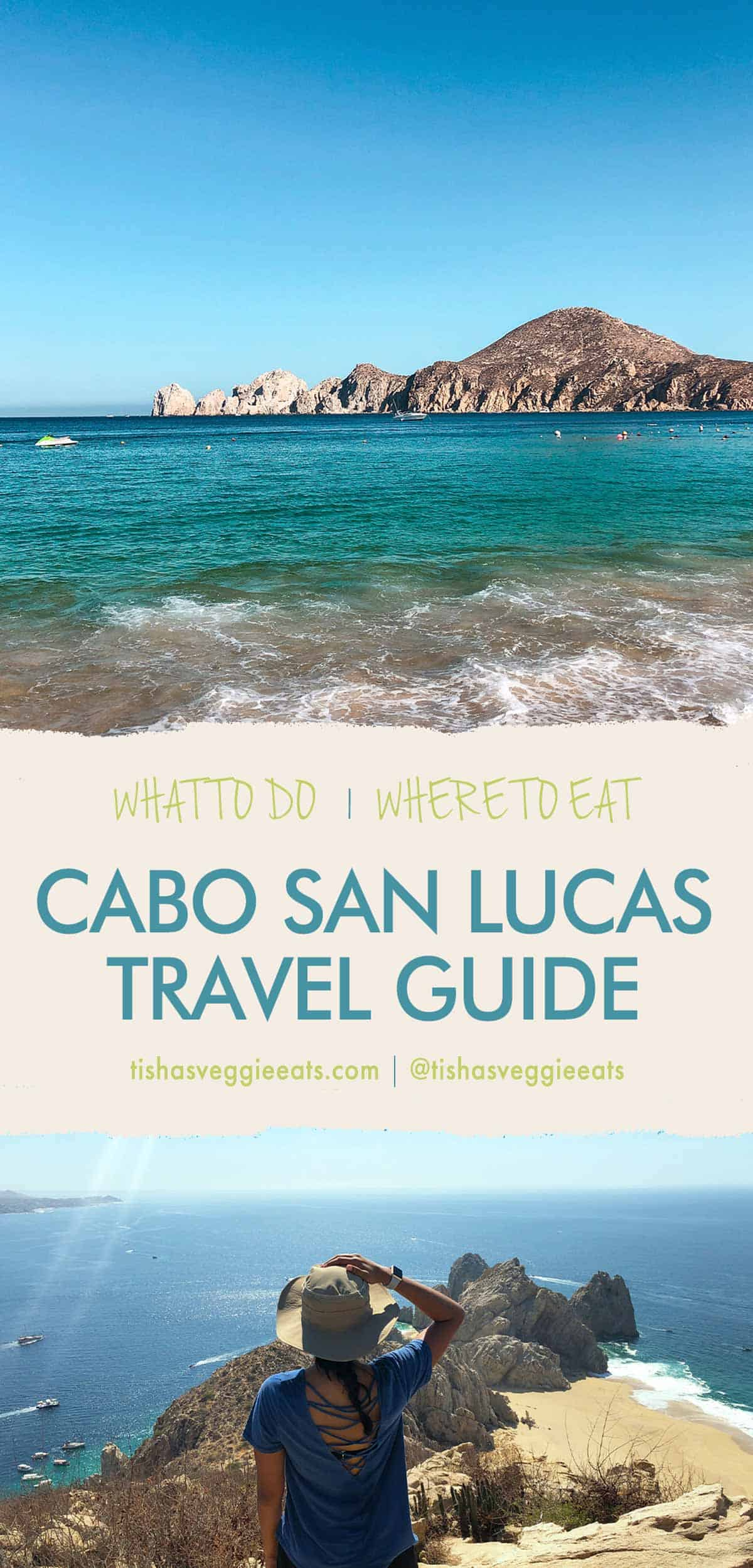 Cabo San Lucas Travel Guide Pinterest Image