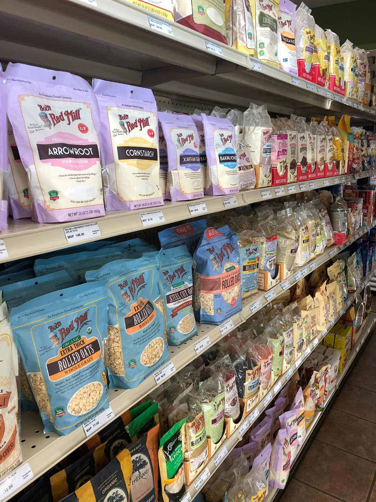 grain free food in grocery store