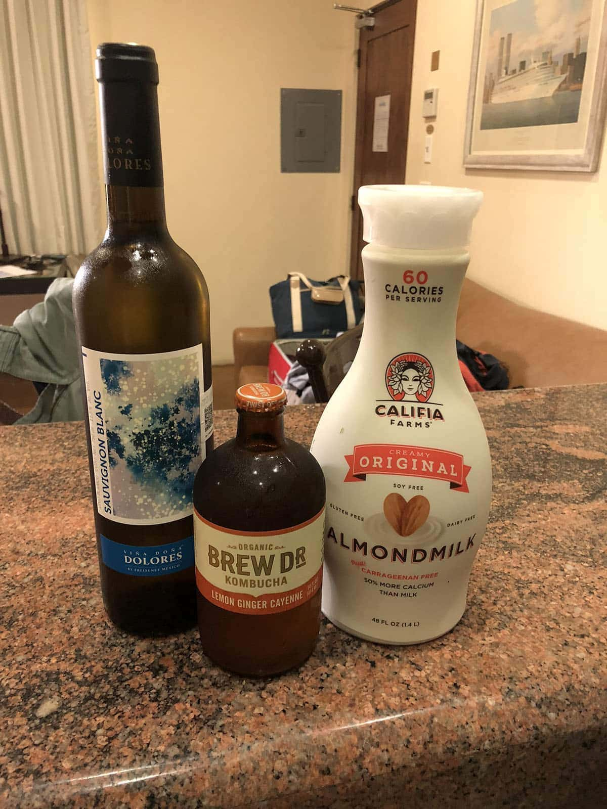 grocery store purchases