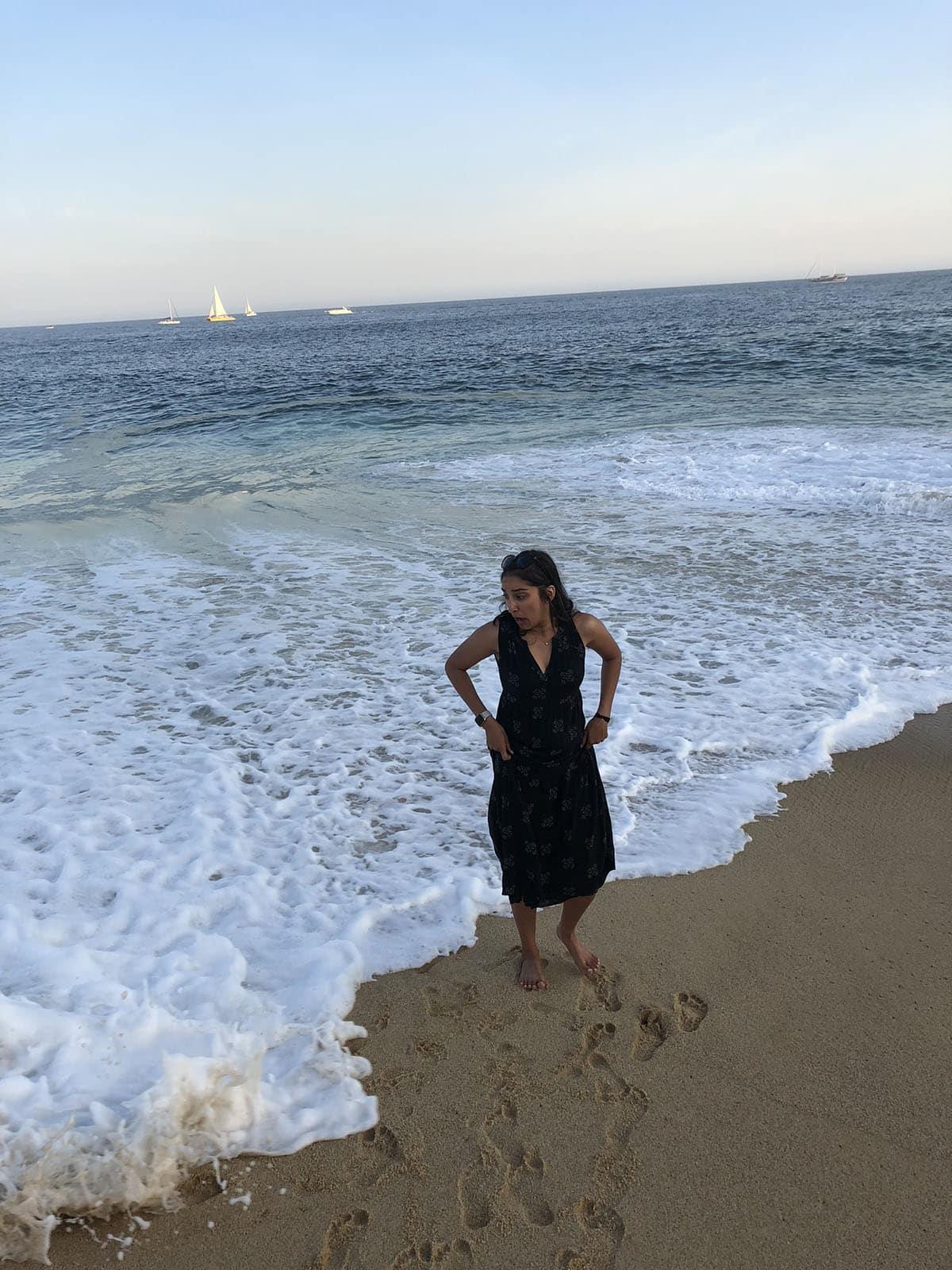 me in pacific ocean